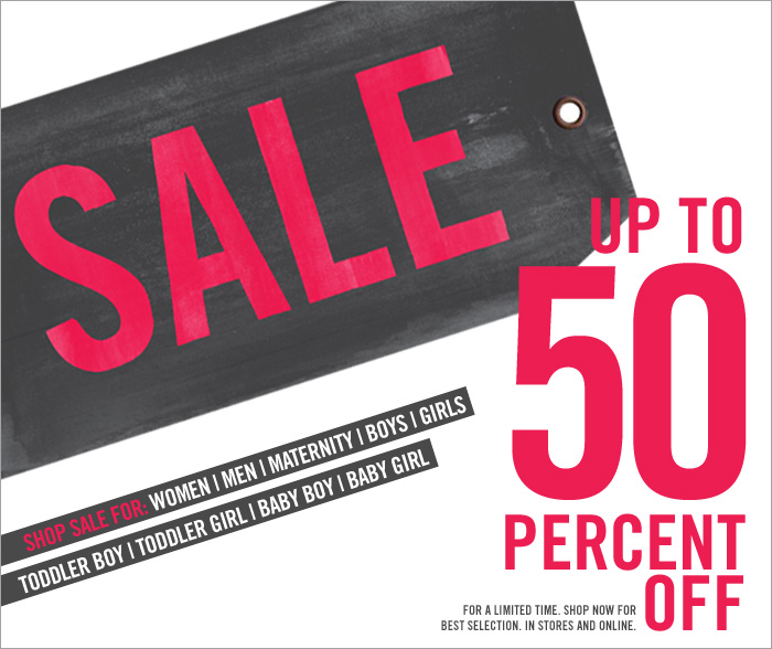 SALE UP TO 50 PERCENT OFF | For a limited time. Shop now for best selection. In stores and online.